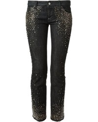 Dsquared2 Skinny Crystal Studded Jeans