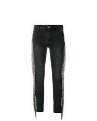 Loulou Embellished Sides Skinny Trousers