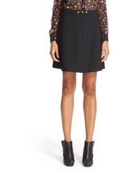 RED Valentino Star Embellished Skirt