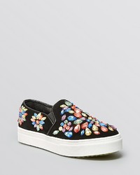 Jeffrey Campbell Flat Slip On Sneakers Sarlo