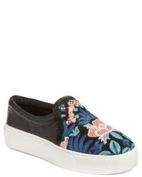 Noelle embellished slip on platform sneaker medium 5034605