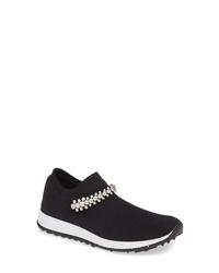 Jimmy Choo Verona Crystal Embellished Knit Sneaker
