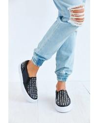 Steve Madden X Peaceloveshea Fairfax Embellished Slip On Sneakers
