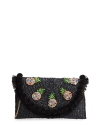 Knotty Straw Clutch