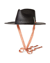 Nick Fouquet Brock Collection Nick 1 Embellished Straw Fedora