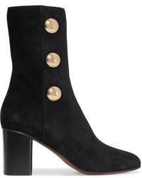 Orlando embellished suede ankle boots black medium 5219612