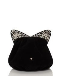 Kate Spade Cats Meow Embellished Cat Bag