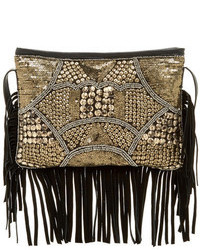 Barganza sorpresa embellished fringe crossbody medium 108389