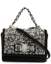 Salvatore ferragamo embellished ginny crossbody bag medium 630791