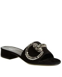 Gucci Maxime Jeweled Slide Sandal