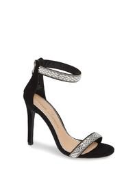 Lauren Lorraine Nesha Crystal Stiletto Sandal