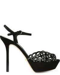 Sergio Rossi Embellished Sandals