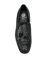Philipp Plein Virus Moccasin Loafers