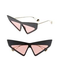 Gucci 70mm Cat Eye Sunglasses