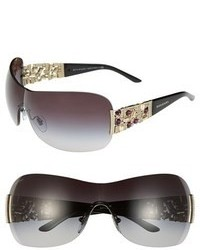 Bulgari Bvlgari 60mm Shield Sunglasses