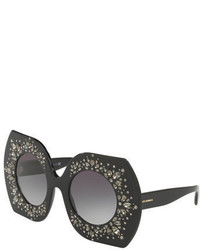 Embellished round sunglasses medium 4353306