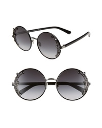 Jimmy Choo Gema 59mm Round Sunglasses