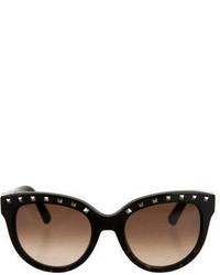 Valentino Rockstud Oversize Sunglasses