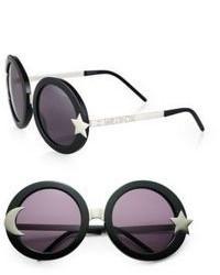 Wildfox Couture Wildfox Luna Round Plastic Sunglasses