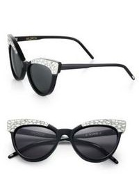 Wildfox Couture Wildfox Le Femme 2 Embellished Cats Eye Sunglasses