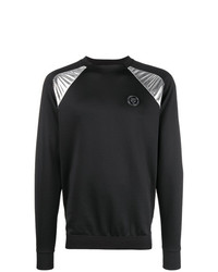 Plein Sport Metallic Panel Sweatshirt