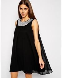 Lashes of london trapeze dress with embellished collar medium 148995