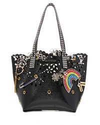 Marc Jacobs Laser Cut Embellished Wingman Tote