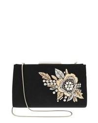 Badgley Mischka Generous Embellished Clutch