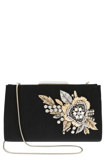 Badgley Mischka Generous Embellished Clutch