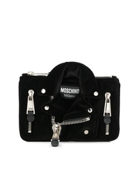 Moschino Small Biker Clutch Bag