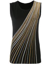 Balmain Crystal Embellished Vest