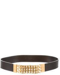 Saint Laurent Chain Embellished Waist Belt