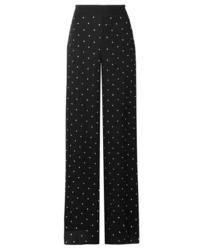 Temperley London Twinkle Crystal Embellished Tte Wide Leg Pants