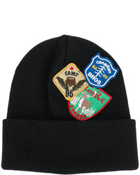 DSQUARED2 Patch Embroidered Beanie Hat