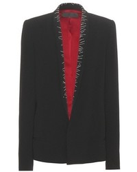 Haider Ackermann Embroidered Crpe Blazer