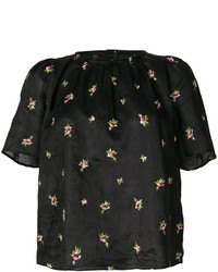 Isabel Marant Floral Embroidered Blouse