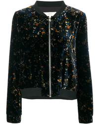 Ath floral pattern bomber jacket medium 4471338
