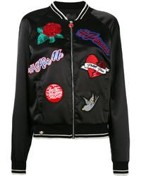 Philipp Plein Embroidered Bomber Jacket