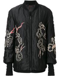 Embroidered bomber jacket medium 5359017