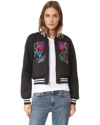 Marisol embroidered bomber jacket medium 799938