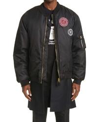 Raf Simons Patch Bomber Jacket