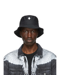 Marcelo Burlon County of Milan Black Er Black Label Edition Cross Bucket Hat