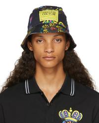 VERSACE JEANS COUTURE Black Regalia Bucket Hat