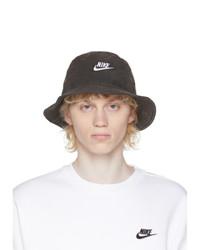 Nike Black Washed Bucket Hat