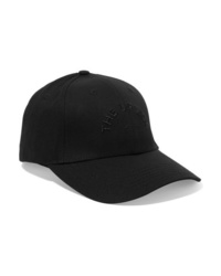 The Upside Embroidered Cotton Canvas Baseball Cap
