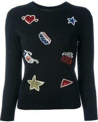 Marc Jacobs Embroidered Jumper