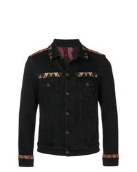 Etro Embroidered Denim Jacket