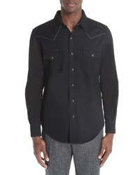 Saint Laurent Western Sport Shirt