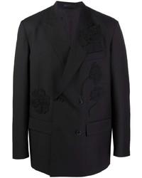Valentino Flower Detail Blazer Jacket