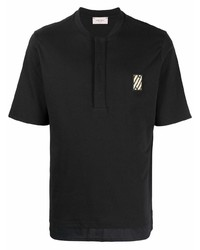 Low Brand Logo Patch Polo Shirt